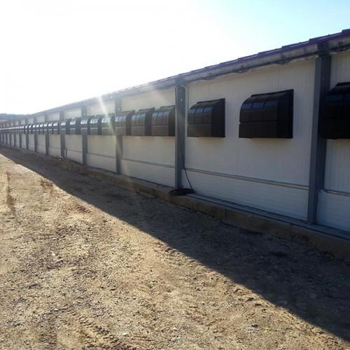 Equipamiento Granja Avícola Teruel