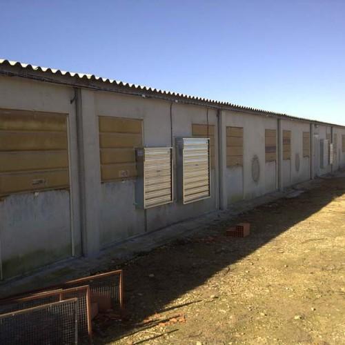 Reforma de Granja Avícola en Albacete